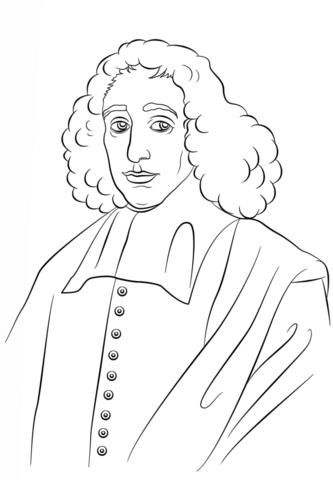 Baruch Spinoza coloring page | Free Printable Coloring Pages | Coloring  pages, Free printable coloring pages, Printable coloring pages