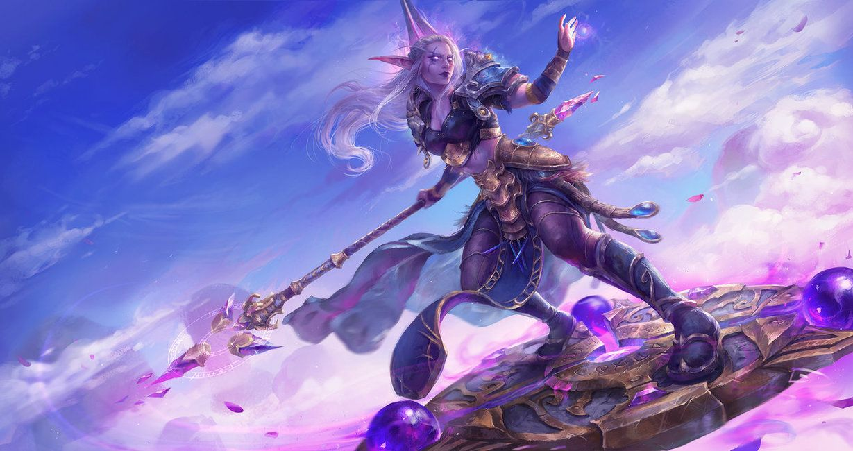 Mage Class Mount By Astri Lohne Deviantart Com On