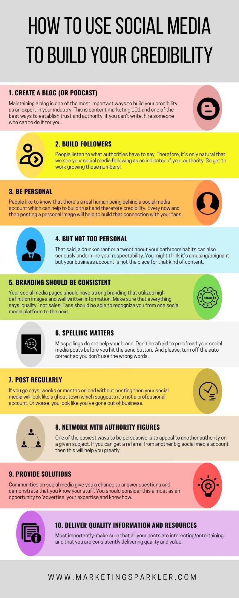 How to Use Social Media to Build Your Credibility Ι Marketing ...