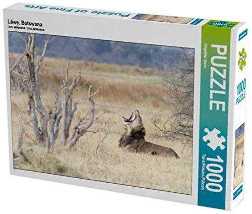 Löwe, Botswana 1000 Teile Puzzle quer (CALVENDO Tiere) An... https://www.amazon.de/dp/B01LNQXJH0/ref=cm_sw_r_pi_dp_x_tTCiybHP3HQVK