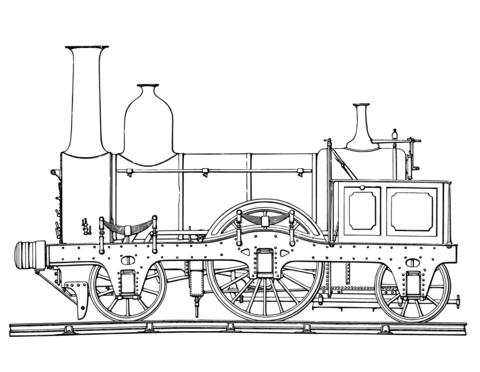 Résultat De Recherche Dimages Pour Coloriage Train Vapeur