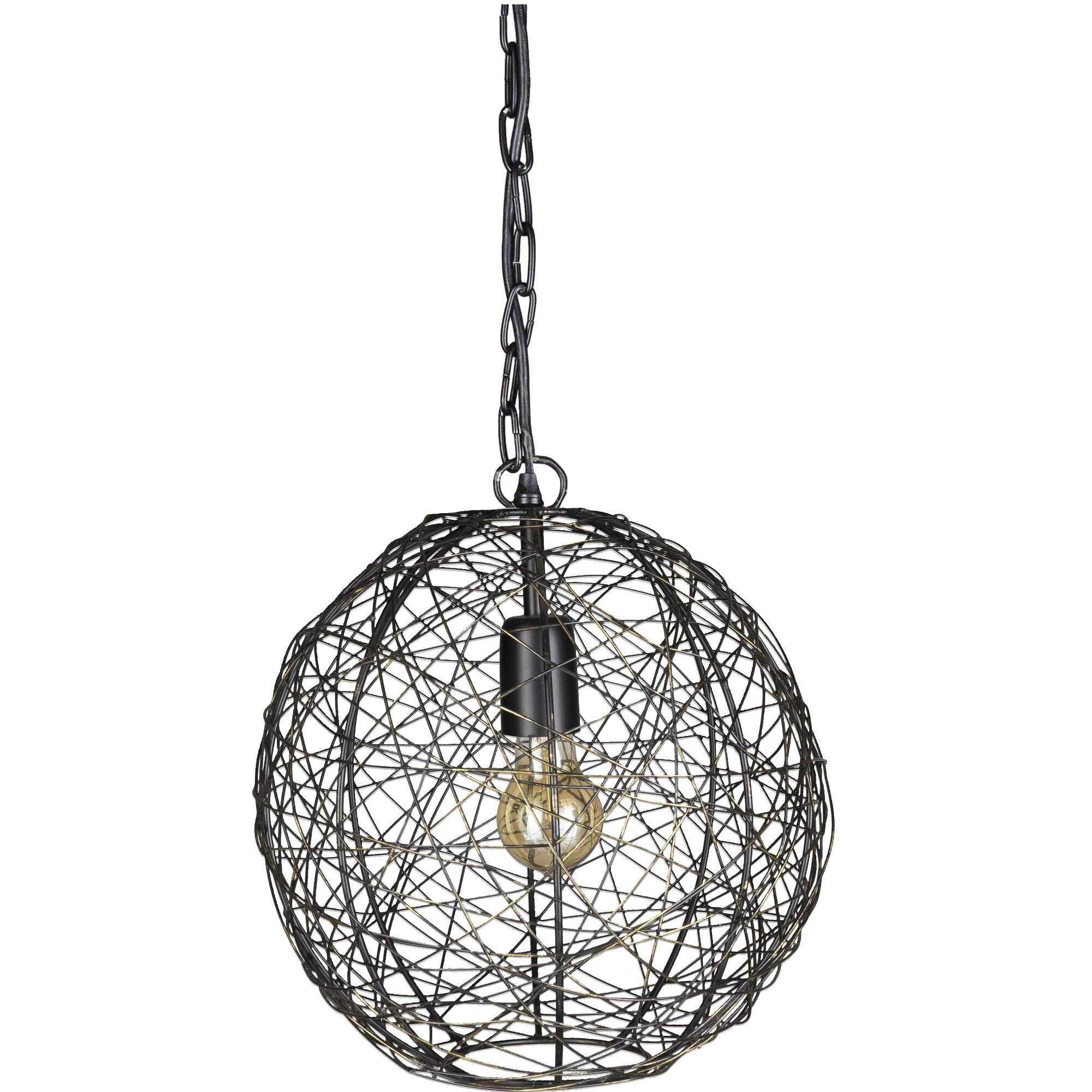 14 Bronze Round Wire Design Hanging Pendant Ceiling Light Fixture Wire Pendant Light Ceiling Lights Ceiling Pendant Lights
