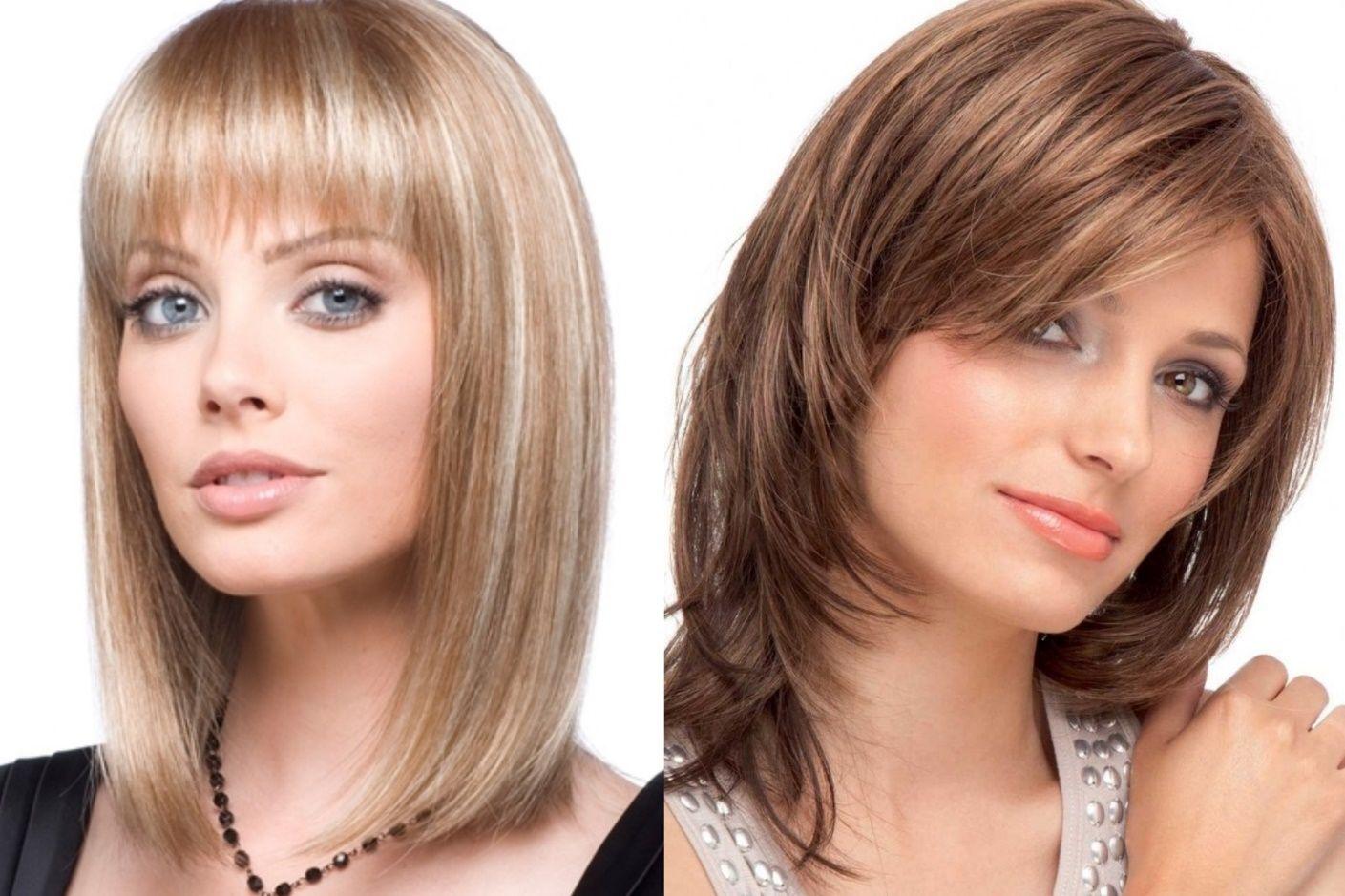 это время фото стильных стрижек на средние волосы покажем фото