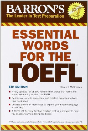 DOWNLOAD PDF] Essential Words for the TOEFL Test of English As a