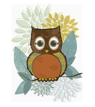 Iron On Patterned Owls Owl, Iron on applique, Joann