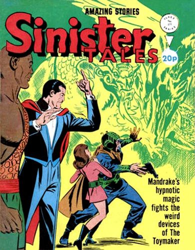 ALAN CLASS COMICS: Hey -I Got Amazing Stories -Sinister Tales No. 177...