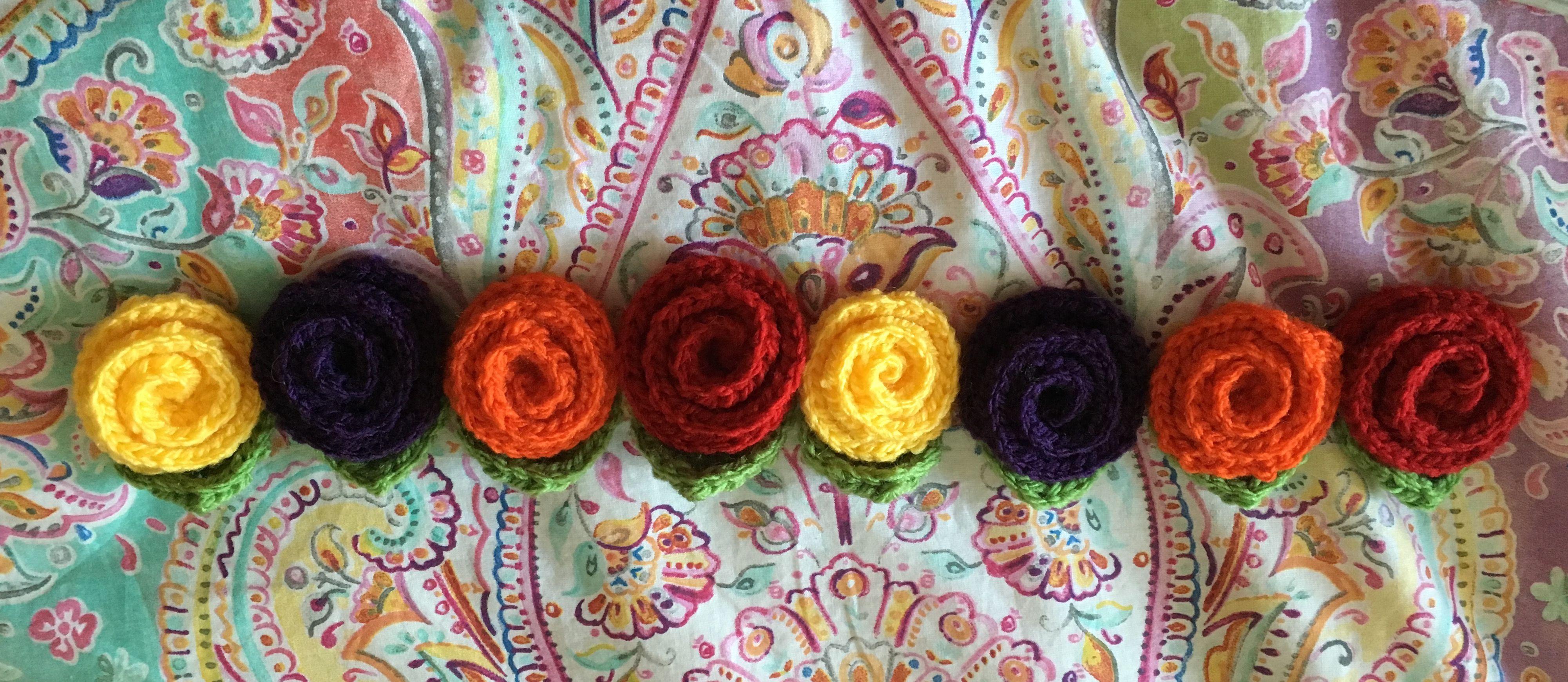 Imanes Flor!! Qué de colores!!! by NanE's