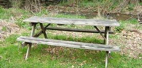 Tips for painting old picnic tables