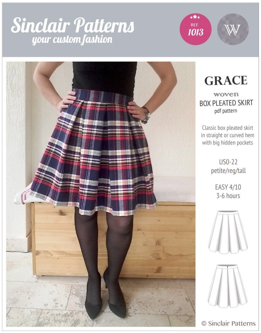 21 Pretty Picture Of Skirt Sewing Patterns Figswoodfiredbistro Com Skirt Patterns Sewing Box Pleated Dress Sewing Skirts