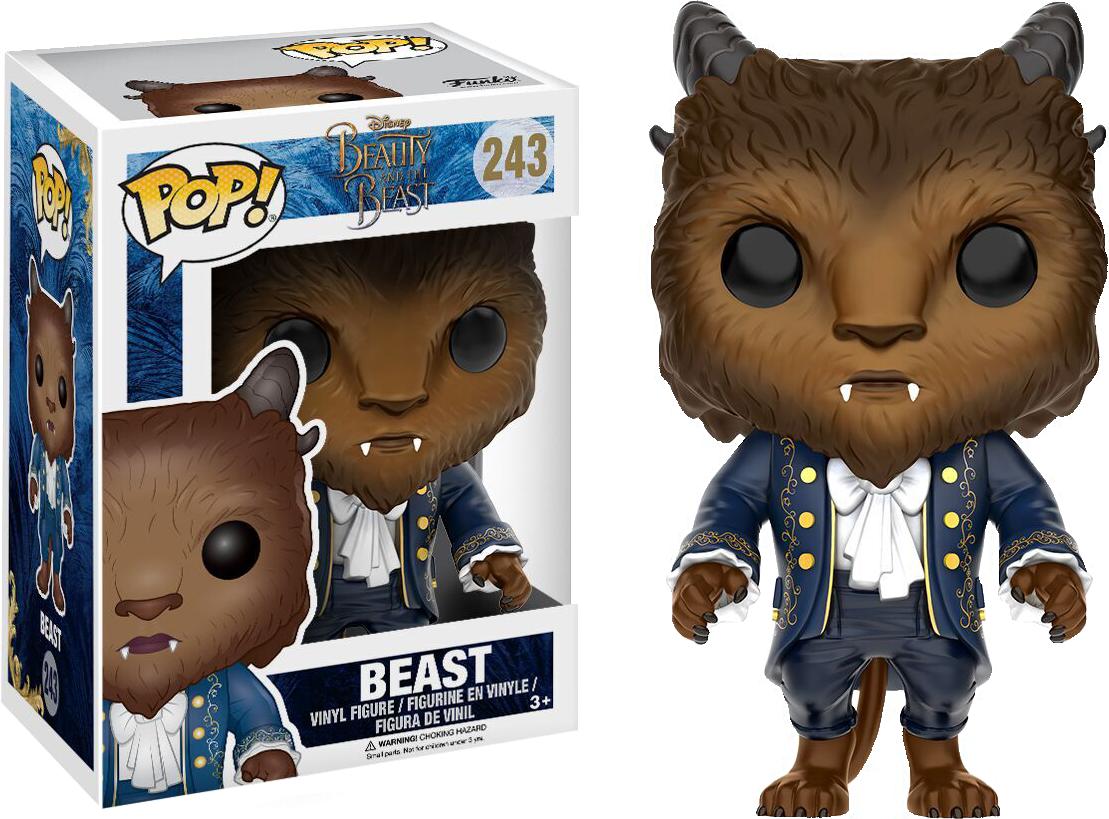Lumiere Beauty And The Beast Movie POP Disney #244 Vinyl Figur Funko