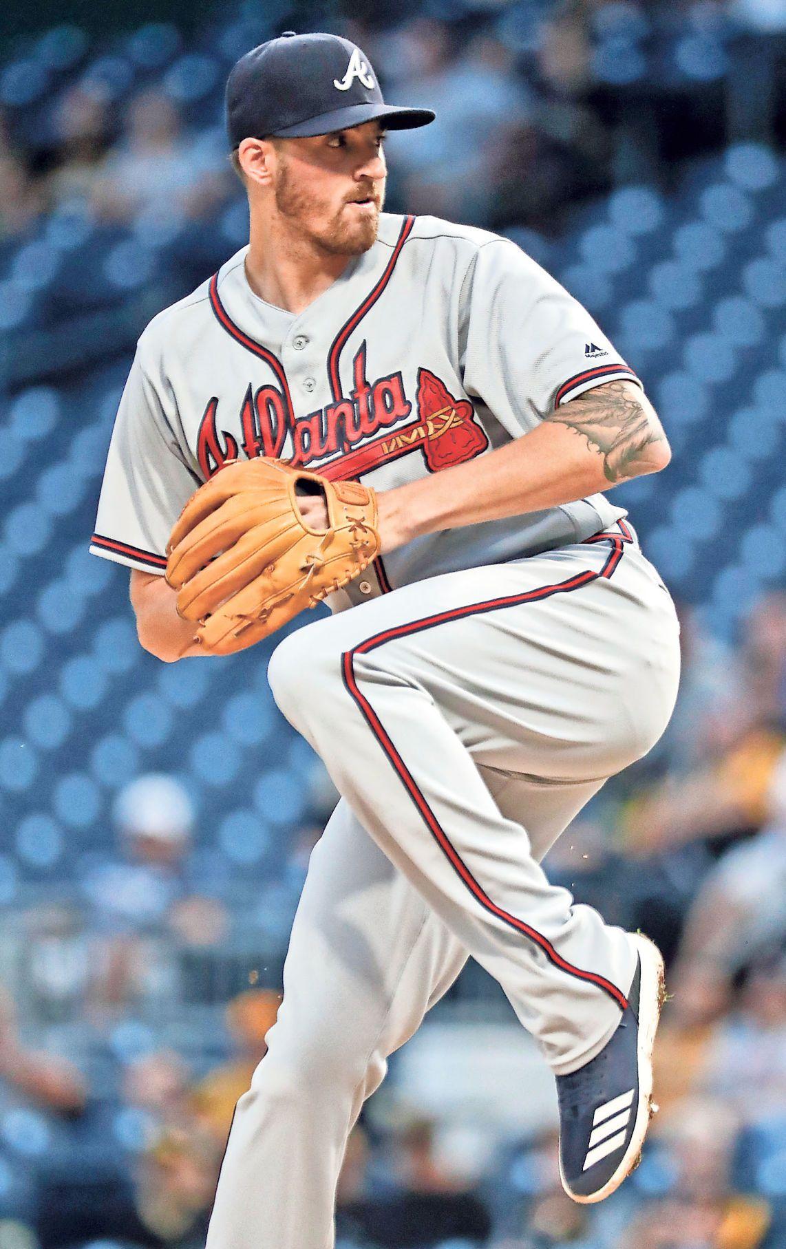 Atlanta Braves starter Kevin Gausman pitches against the