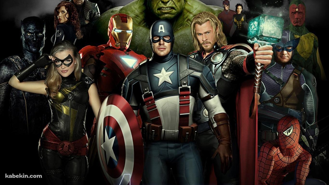 アベンジャーズ Avengers 1366 X 768 の壁紙 壁紙キングダム Pc