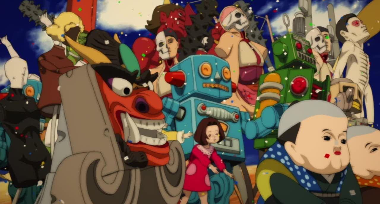 Paprika Movie Poster Google Search Anime Movies Anime Satoshi Kon