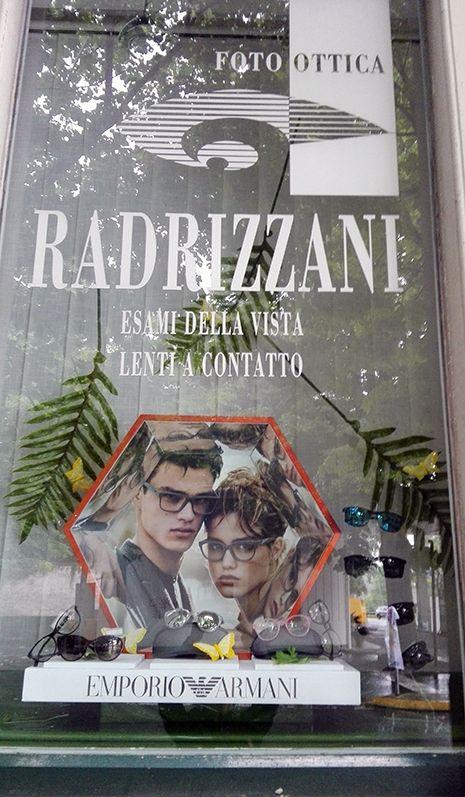 Vetrine Ottica Radrizzani SUMMER 2016by Emanuela Terraneo www.emanuelaterraneo.com