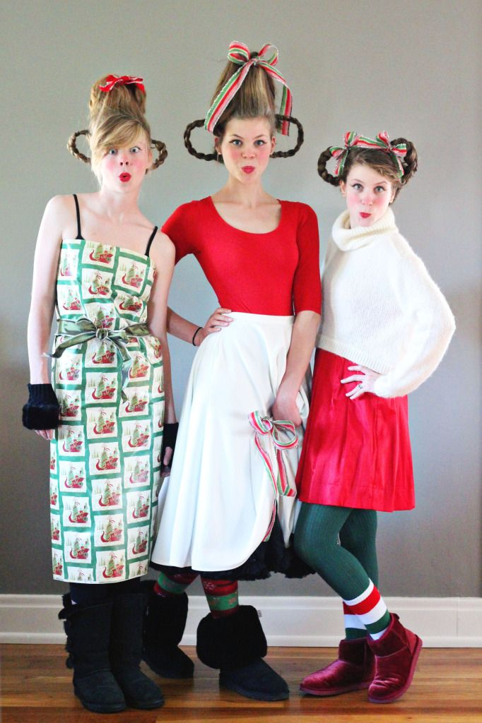 Christmas Costume Party Ideas Part - 22: Whoville Costume Inspiration From How The Grinch Stole Christmas