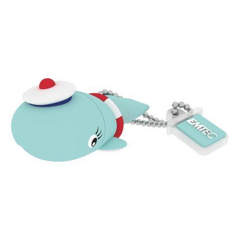 Clé USB Emtec Animalitos 8 Go baleine 2.0