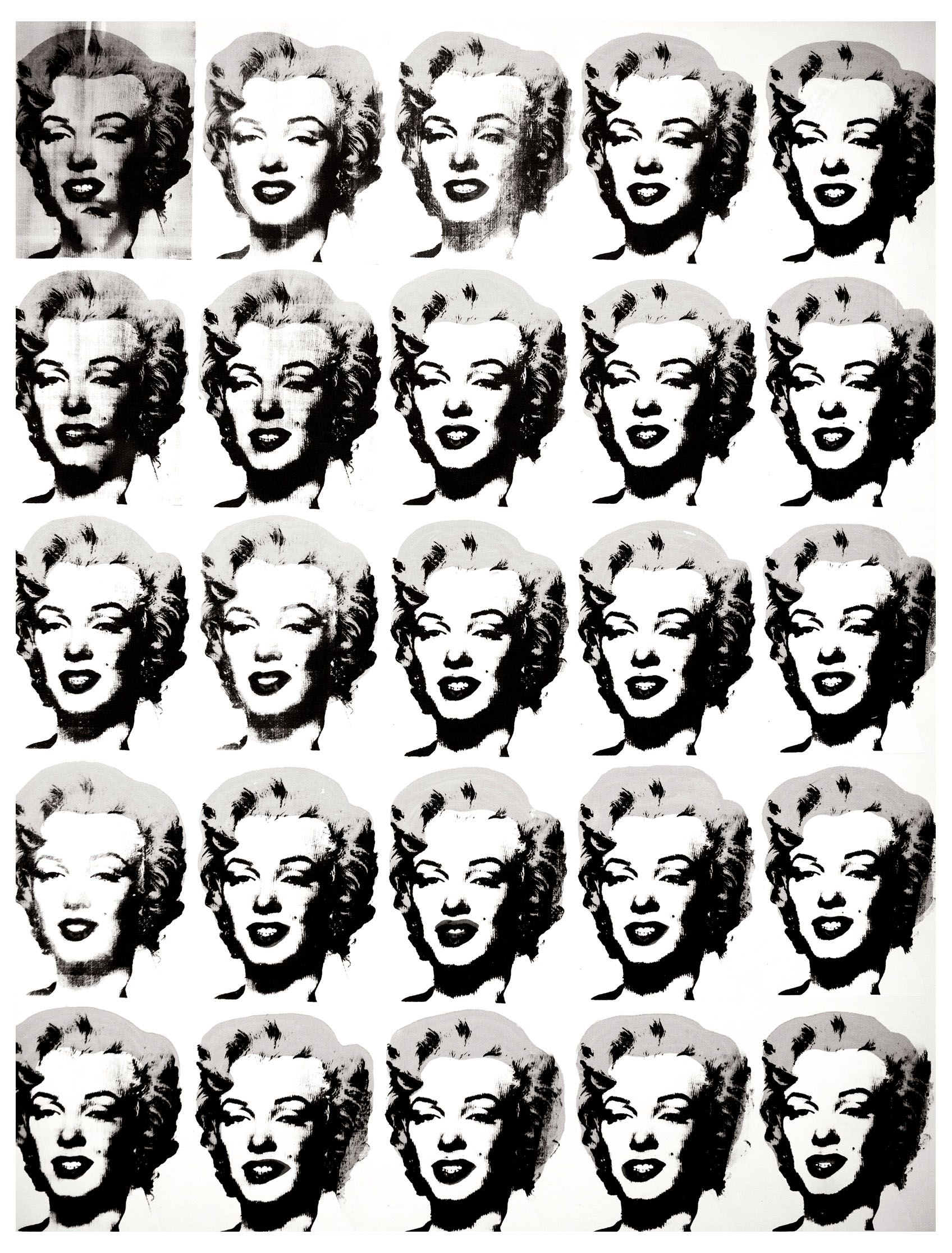 - Warhol Marilyn Monroe - Pop Art Coloring Pages For Adults - Just