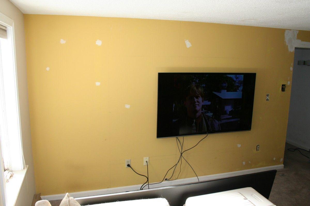 Perfect Plum TV Wall #handmade #crafts #HowTo #DIY | DIYs that i ...