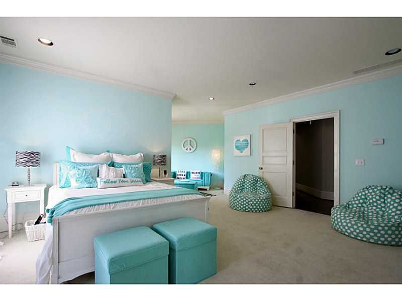 Bedroom Ideas For Teenage Girls Teal tween room, teal, zebra accents | girl bedroom ideas | pinterest