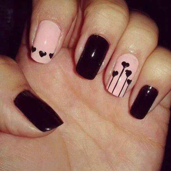 70+ Heart Nail Designs | Style nails, Nail stamping designs and ...