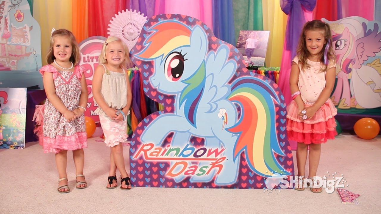 Celebrate In Pony Ville With Shindigz Exclusive My Little Pony