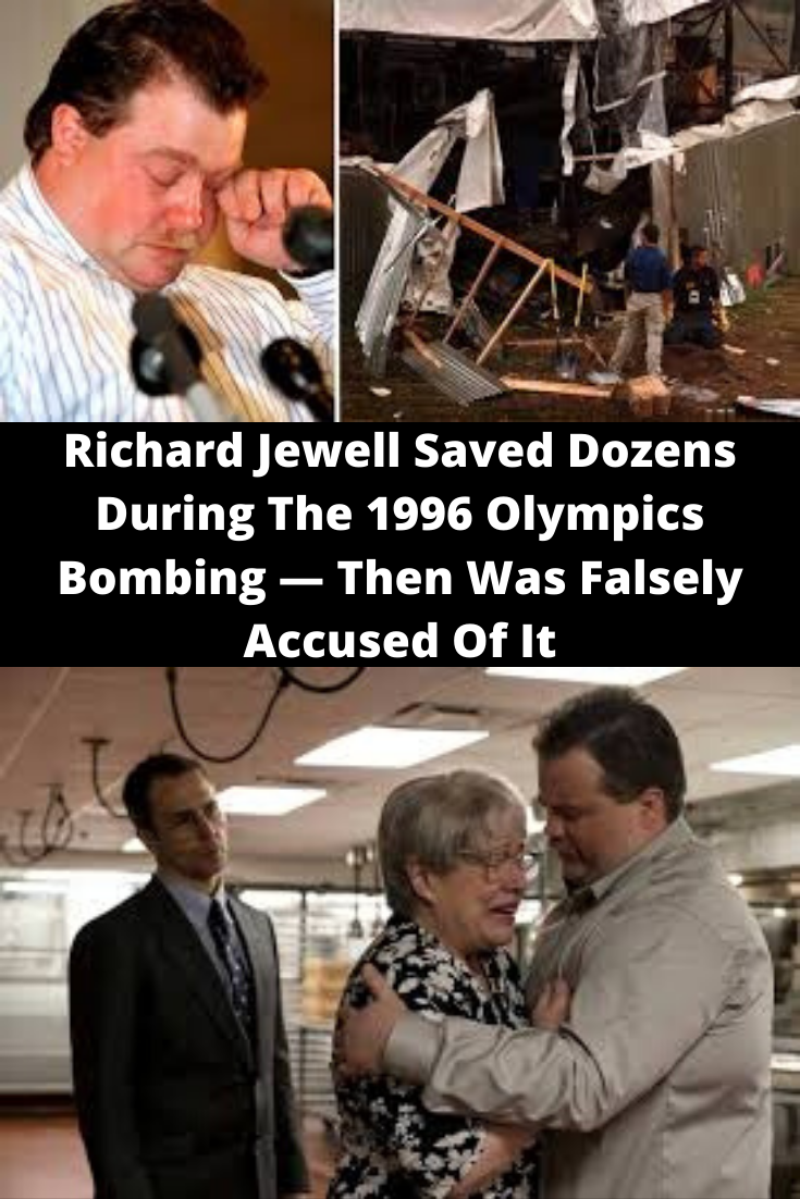 New Funny Pins Richard Jewell Saved Dozens During The 1996 Olympics Bombing — Then Was Falsely Accused Of It Richard Jewell Saved Dozens During The 1996 Olympics Bombing — Then Was Falsely Accused Of It 10