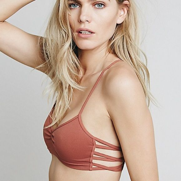 New Free People Intimately Strappy Side Bra Size:M//L