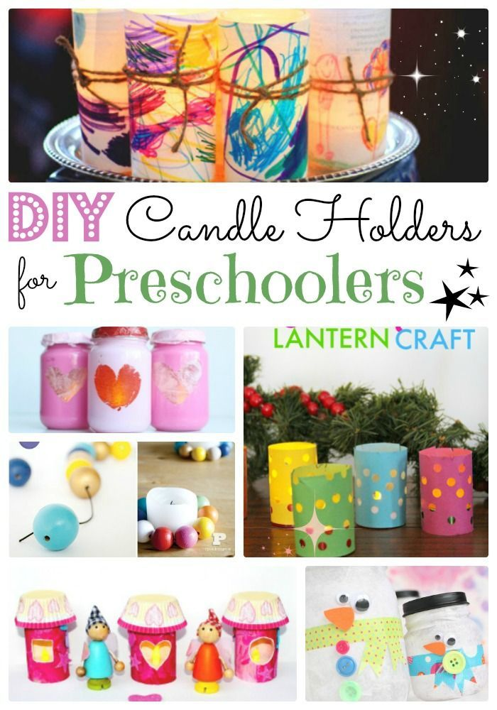 Diy Luminaries And Candle Holders Red Ted Art Make Crafting With Kids Easy Fun Diy Candle Holders Kids Candles Lantern Craft