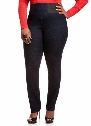 663ea169a9c Ashley Stewart Women s Plus Size High-Waisted Denim Pants