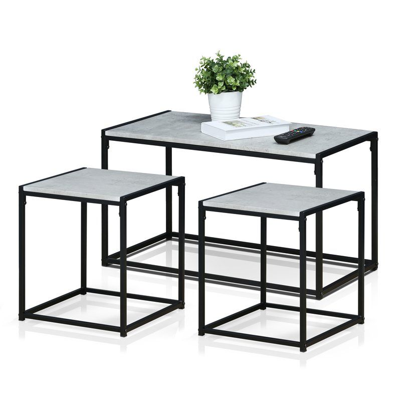 Andresen 3 Piece Coffee Table Set Modern Coffee Table Sets Coffee Table Modern Living Room Set