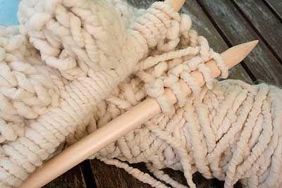 Alpaca Big Stitch Blanket Pattern Using Big Stitch Jumbo