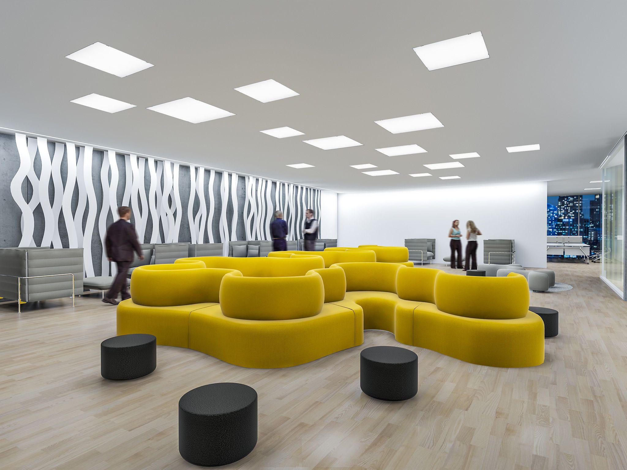 Das Beste Licht Fur Buros Zumtobel Raumgestaltung Inneneinrichtung Mobeldesign
