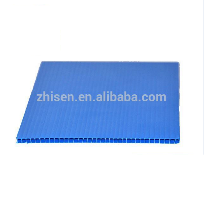 Blue Pp Hollow Composite Decking Corflute Protection Board 2mm Plastic Sheet Plastic Sheets Corrugated Plastic Composite Decking