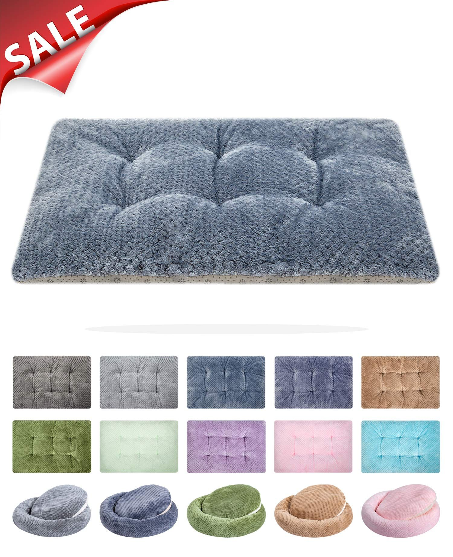 WONDER MIRACLE Fuzzy Deluxe Pet Beds, Super Plush Dog or