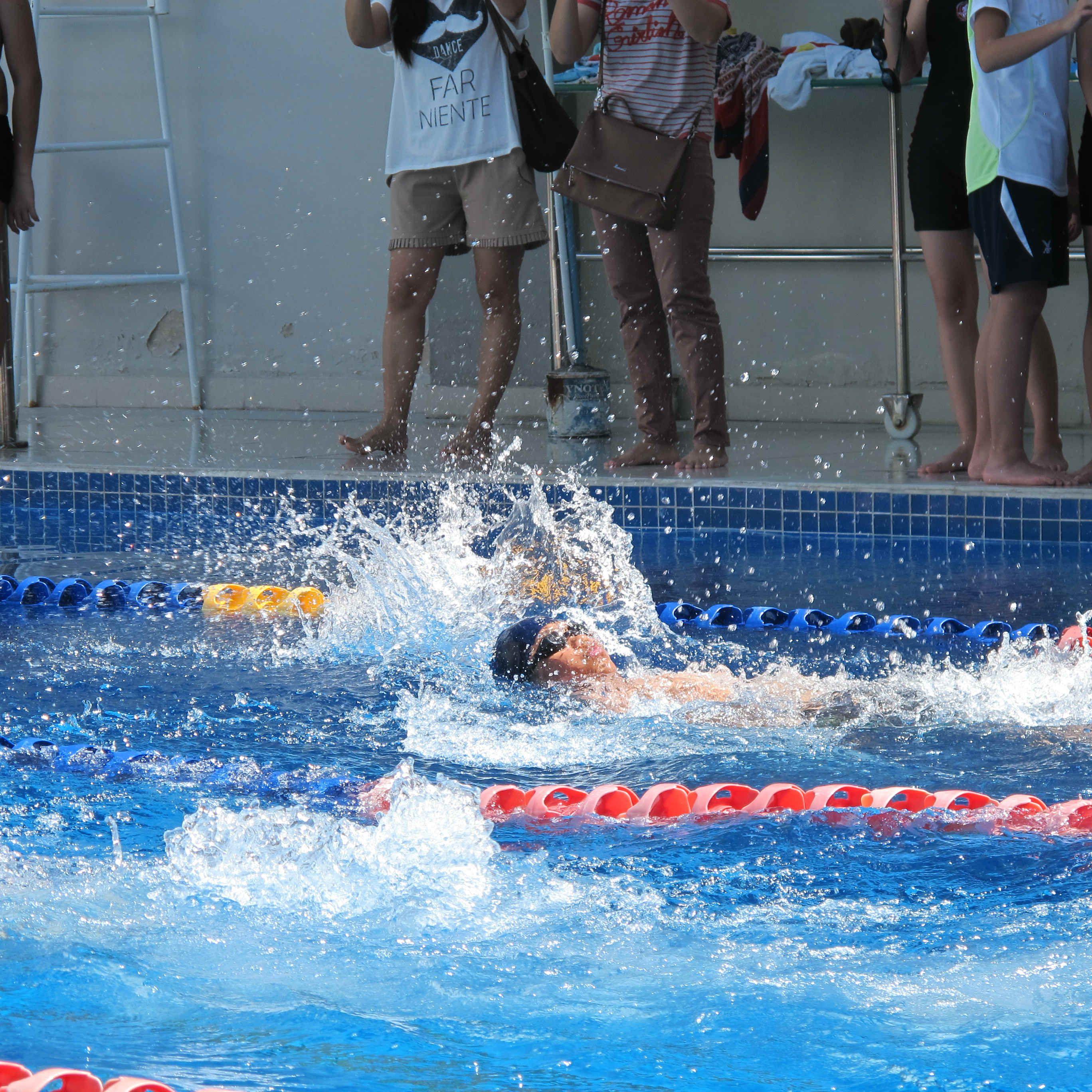 backstroke 50m