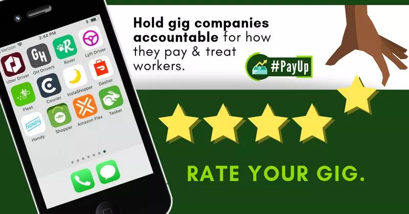 Rate Your Gig A Helpful Tool For Rating Gig Economy Jobs I E Doordash Uber Lyft Uber Eats Grubhub Etc Gigs Working Life Cool Tools