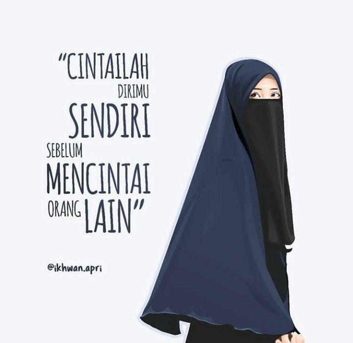 Epingle Par Lisa 9502 Sur Kartun Muslimah Pinterest Gambar Akwat