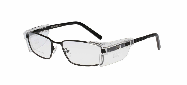 Caterpillar safety resistorpop on side shields eyeglasses