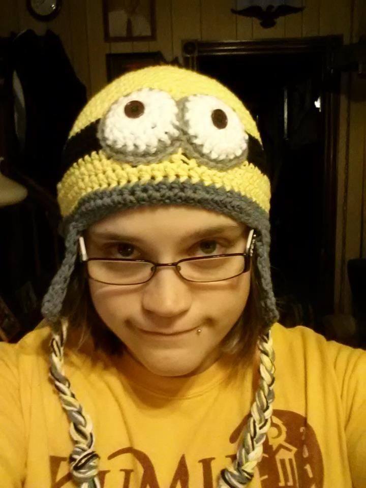 Crochet Me Crazy — Despicable Me Minion Beanie Pattern | Crochet ...