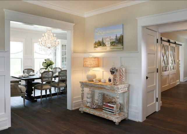 Traditional Restored Shingle Home SUCH A BEAUTIFUL LIGHT FILLED STYLIZED HOME Entryway WallCoastal EntrywayCoastal Dining RoomsEntryway