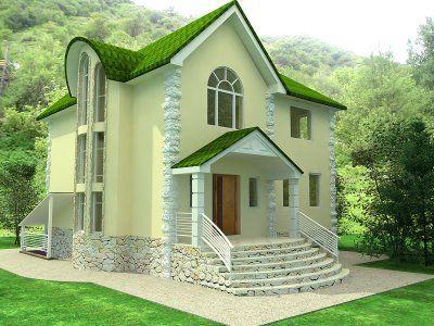European House Design | Breathtaking Homes  | Pinterest | Green