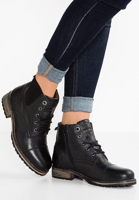 5433afafe5602 Chaussures Pepe Jeans MELTING - Boots à talons - black noir  140,00 € chez  Zalando (au 02 11 16). Livraison et retours gratuits et service client  gratuit au ...