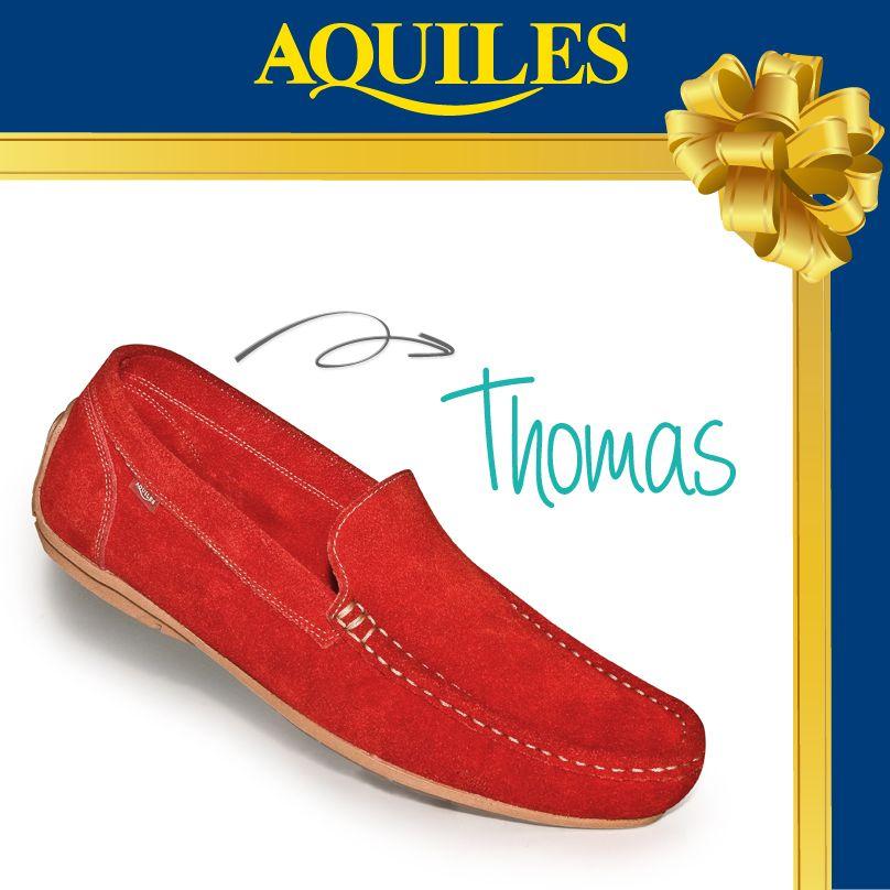 En el mes del Amor y la Amistad los mocasines THOMAS son el regalo ideal para tu pareja. Aquiles ¡Camina Contigo!!!