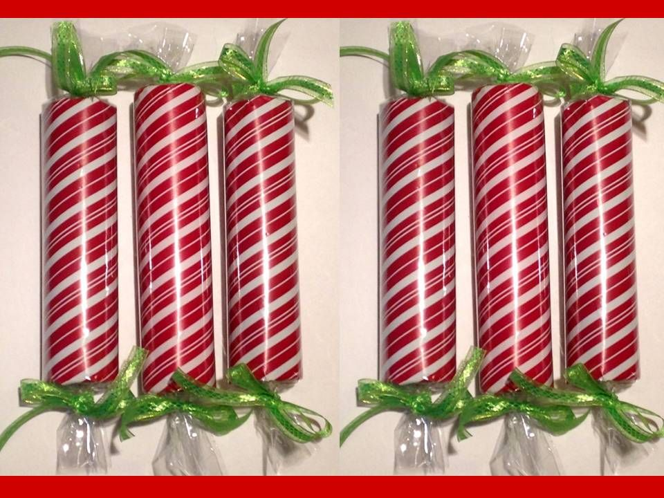 Large Faux Christmas Candy Decorations This Uses Pool