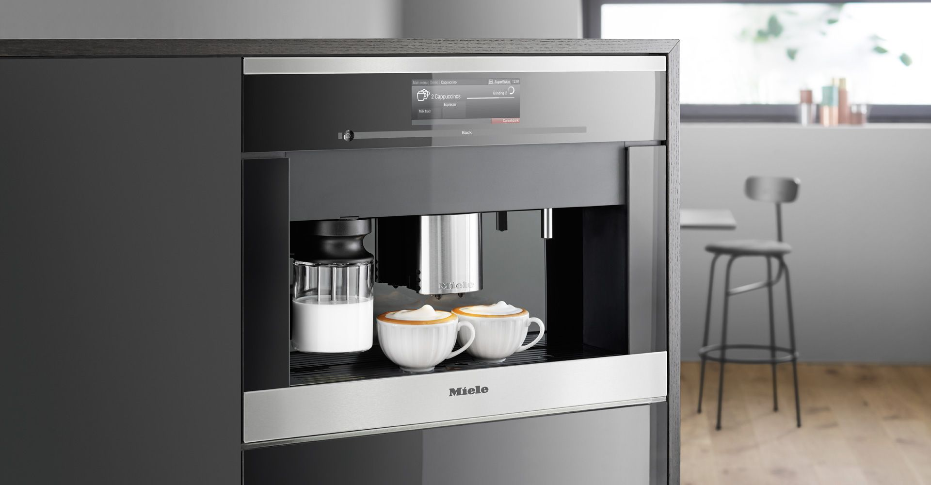 Image Result For Miele Built In Coffee Machine Coffee
