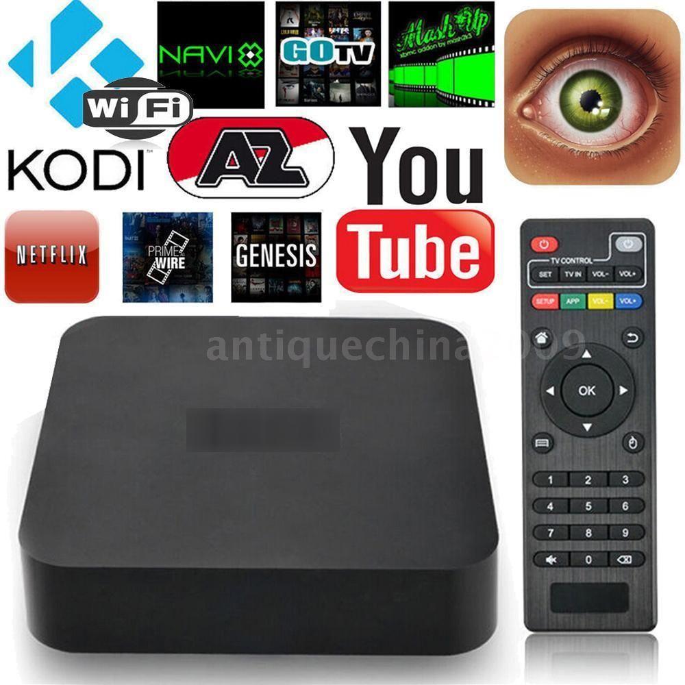 X96mini Android 7.1.2 Smart TV BOX 4K Amlogic S905W Quad Core 8GB HD WIFI  Media | eBay | Smart tv, Android tv box, Kodi