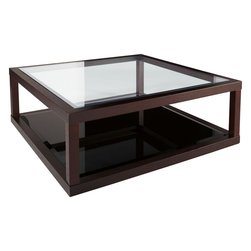 Glass and dark wood coffee table modern home furniture check more at http