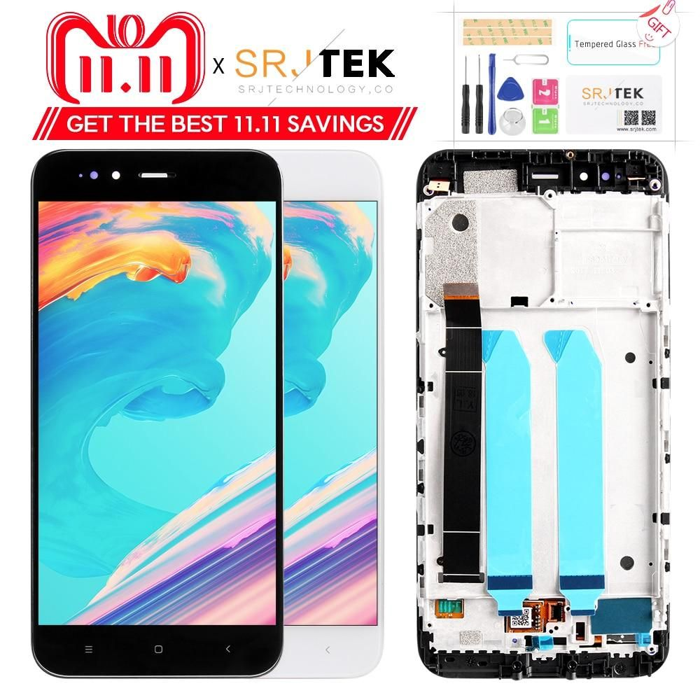 5 5 Original Lcd For Xiaomi Mi A1 Touch Screen Display Xiaomi With Frame Replacement 5x Lcd Shopee Bazar Touch Screen Display Display Resolution Touch Screen