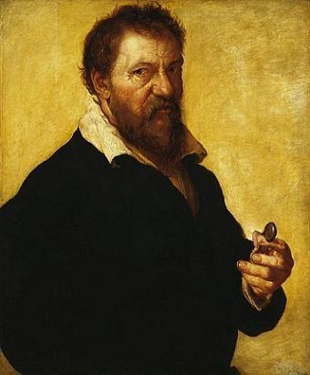 Self-Portrait, ca. 1550 (Lambert Lombard) (ca. 1505-1565) State Hermitage Museum, St. Petersburg, Russia