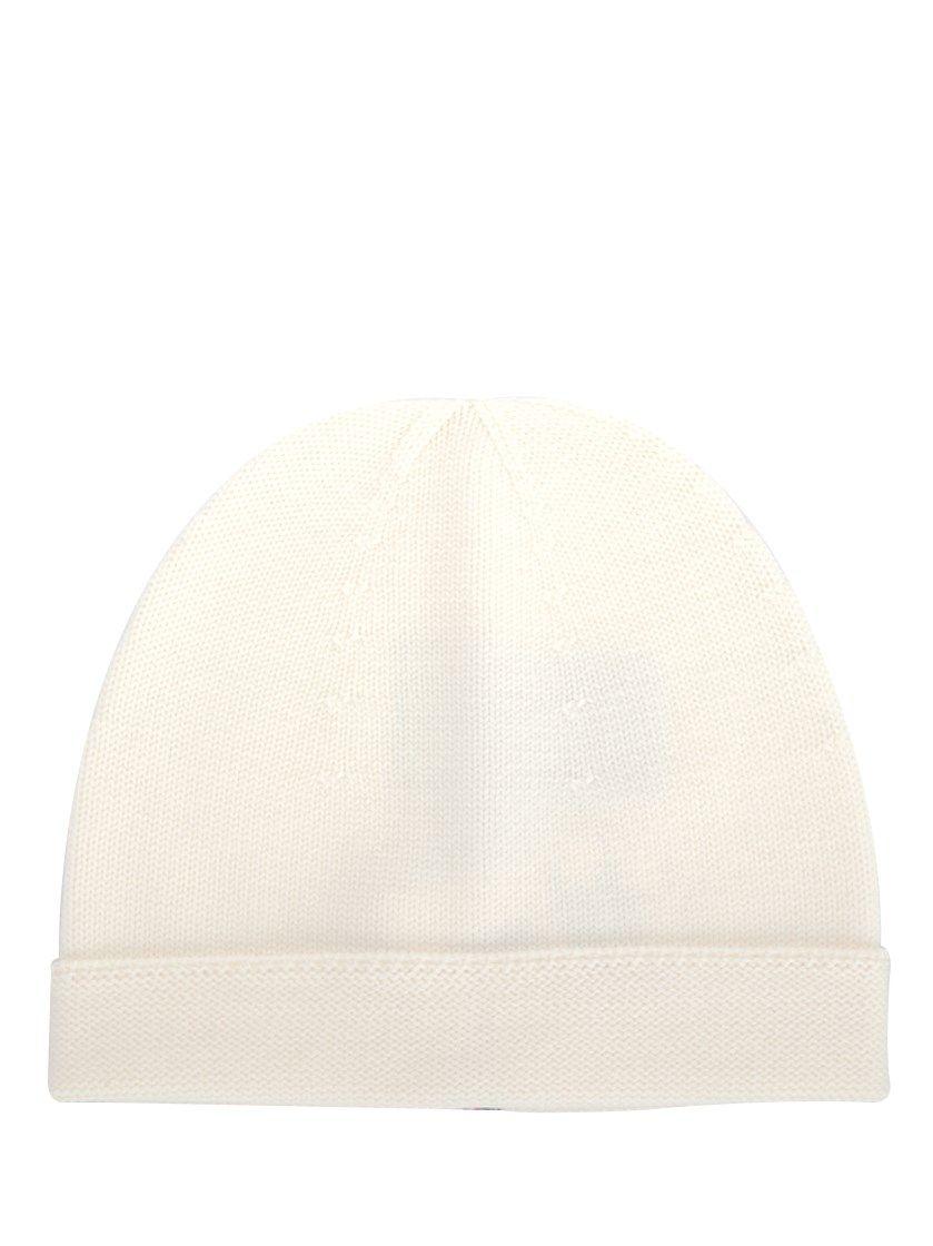 805da338a21c6 GUCCI White Wool  Web  Beanie.  gucci  hats